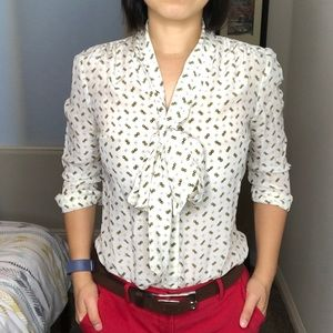 Banana Republic button up blouse.